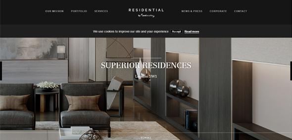 奢侈品网站设计